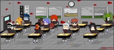 Qui est isolé dans la classe au fond à droite (ayez de bons yeux) ?