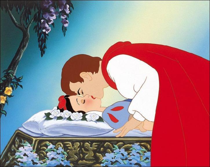 Pourquoi le prince embrasse-t-il la princesse ?