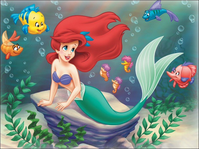 Qui est le meilleur ami de la petite sirène ?