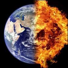 La planète se dérègle... On craint la catastrophe pour demain ! Il va falloir être vigilant ! On a pu constater que -----------------.''