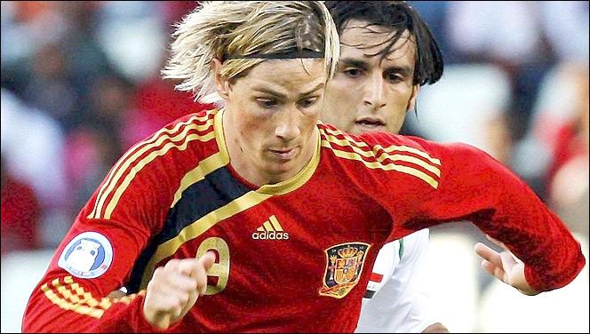 Heureusement, il reste à Torres l'équipe nationale pour se remonter le moral… Enfin, pas sûr. A-t-il marqué avec l'équipe d´Espagne depuis son transfert à Chelsea ?