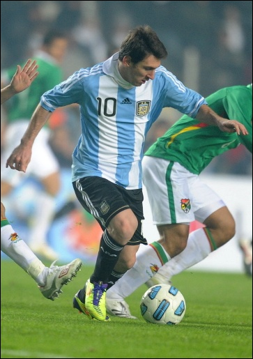 2012 : Messi a reçu son :