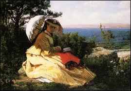 Qui a peint 'La femme à l'ombrelle' ?