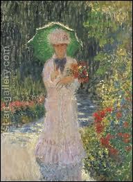 Qui a peint 'Camille à l'ombrelle verte' ?