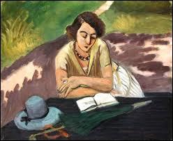 Qui a peint 'Liseuse à l'ombrelle' ?