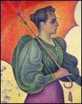 Qui a peint 'Femme à l'ombrelle' ?