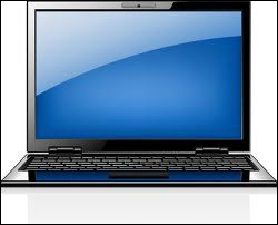 Quelle fille passe ses journées devant son ordinateur portable ?