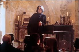 Quel est le patronus du professeur de potions ?