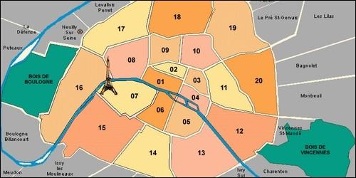 Depuis quand Paris compte-t-elle 20 arrondissements ?