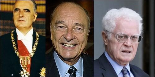 Lequel de ces hommes politiques n'a pas été Président ?