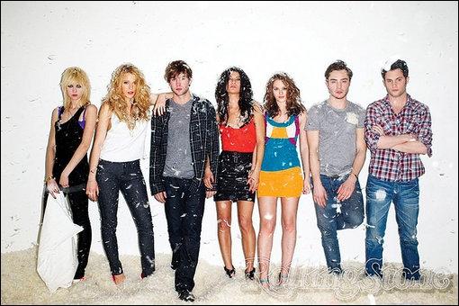 Dans 'Gossip Girl saison1' qui sortait avec Nate ?