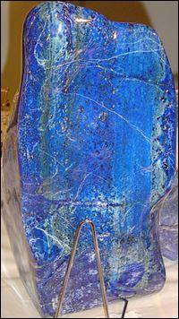 Quelle est cette pierre fine toujours bleue ?