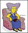 Comment s'appelle la tante de Marge ?