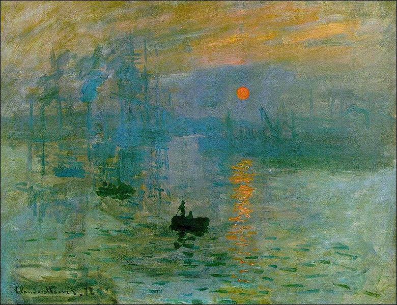 """Le terme impressionnisme vient du tableau intitulé """"Impression, soleil levant"""". Qui en est l'auteur ?"""