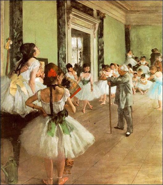 """Quel artiste a peint """"Classe de danse"""" ?"""