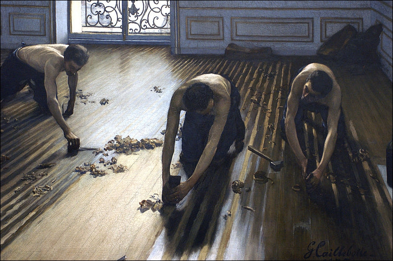 """Quel artiste a peint """"Les raboteurs de parquets"""" ?"""