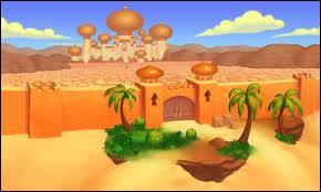 Dans quelle ville se déroulent les aventures d'Aladdin ?