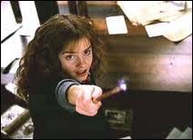 Quel sortilège Hermione a-t-elle lancé aux lutins de Cornouailles ?