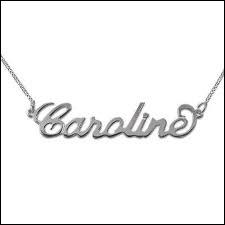 Quel garçon a une fille qui s'appelle Caroline ?