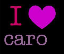 Quelle fille a pour meilleure amie une dénommée Caro ?