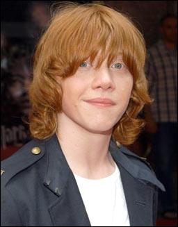 Quel acteur joue Ron Weasley ?