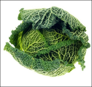 Ce légume tout frais doit être relié au ?