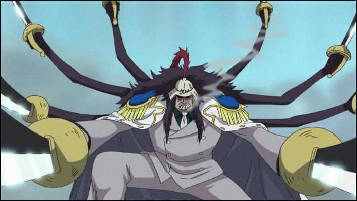 Quel est le grade de Onigumo ?
