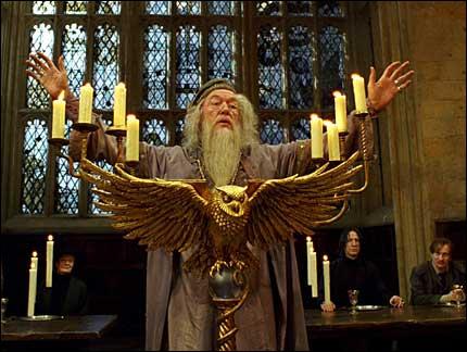 De quel mal est atteint Dumbledore lors de la sixième année d'étude de Harry ?