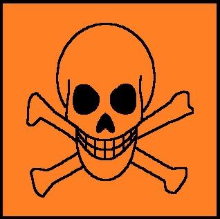 Quizz les tiquettes des produits domestiques avant 2010 - Symbole tete de mort ...