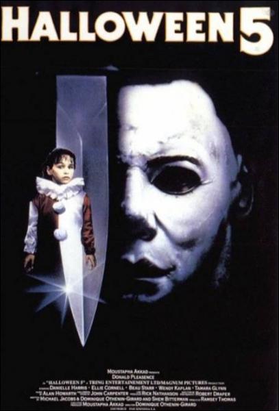 Dans 'Halloween 5', combien de temps est passé depuis que Michael Myers a essayé de tuer sa nièce ?