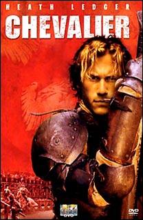 ''Chevalier'' est un film sur les tournois au Moyen Âge. Quelle chanson débute étonnamment le film ?