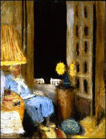 Qui a peint Madame Hessel lisant devant une fenêtre .