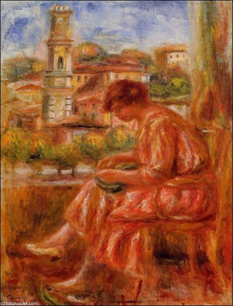 Qui a peint Femme à la fenêtre à Nice ?