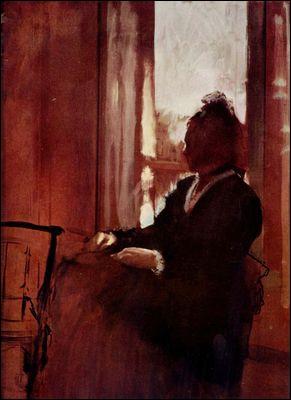 Qui a peint Femme à la fenêtre ?