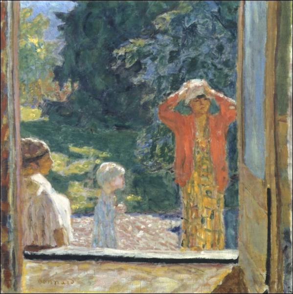 Qui a peint Devant la fenêtre au grand Lemps ?