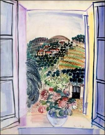 Qui a peint Fenêtre ouverte sur Saint Jeannet ?