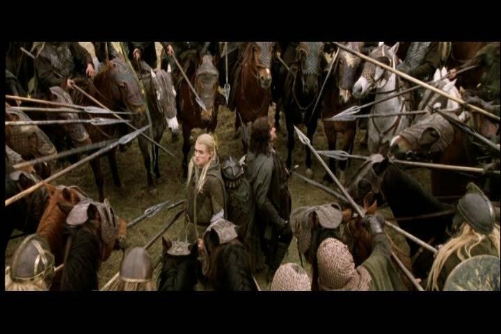 Quel est le nom du chef des cavaliers du Rohan que rencontrent Aragorn, Legolas et Gimli alors qu'ils sont à la recherche de Merry et Pippin ?