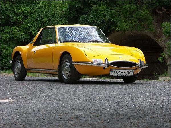 Ce coupé sportif fut fabriqué de 1967 à 1973 par une firme basée à Romorantin dans le Loir et Cher :