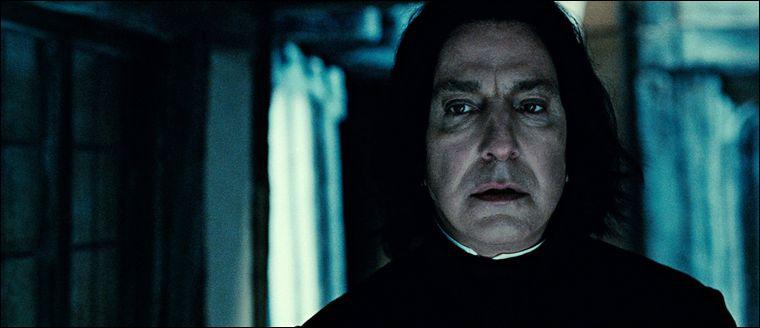 Après la mort de James et Lily Potter, que demande Dumbledore à Severus Rogue ?