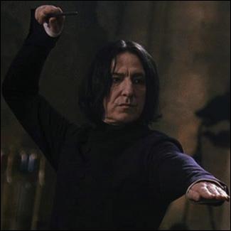 Lors du premier match de Quidditch de Harry, on voit Rogue incanter une formule magique. Que fesait-il en fait ?