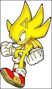 Avec les Chaos Emeralds, Sonic peut être :