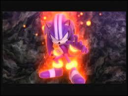 Cette transformation se fait dans Sonic and the Secrets Rings avec 3 des 7 Rings mondial :
