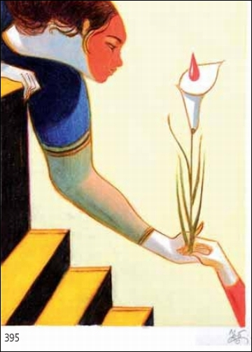 Femme à la fleur (un calla) est une oeuvre de ?