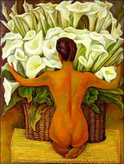 Ce peintre est passionné par le sujet des callas. Qui est-ce ?