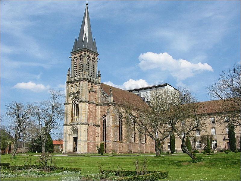 Abbaye Notre-Dame d'Autrey : en quelle année le cardinal Étienne de Bar, évêque de Metz, fonde-t-il l'abbaye ?