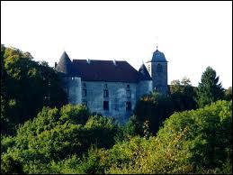 Quels envahisseurs et en quelle année ont attaqués Alberte-Barbe d'Ernecourt, épouse du seigneur au château de Saint-Baslemont ?