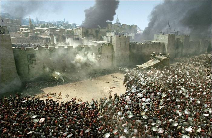 Quel est le point faible des remparts de Jérusalem ?