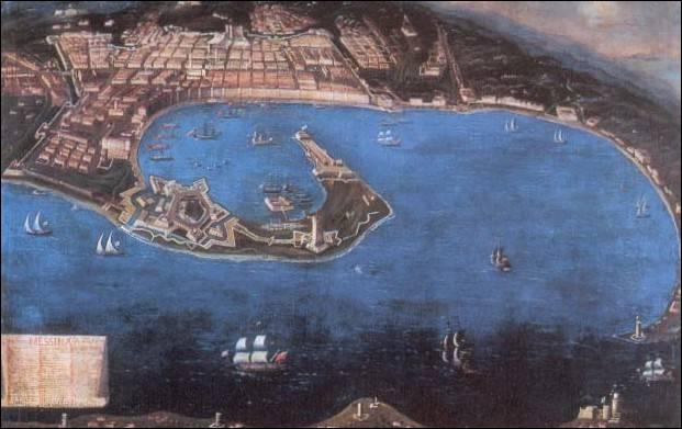 Quelle réplique accueille Godefroy et ses hommes, ainsi que Balian, lorsque ceux-ci atteignent le campement des pélerins, sur le chemin menant au port d'où partent les navires pour la Terre Sainte ?