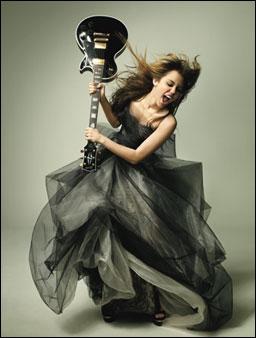 De quel instrument joue-t-elle ?