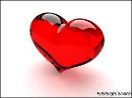 Quelle est la couleur de ce coeur ?